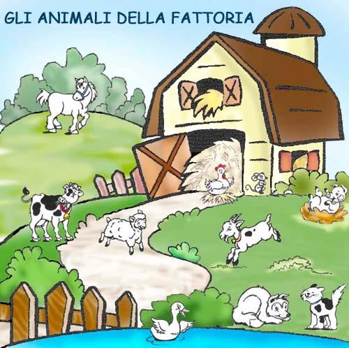 Farm for Grandi planimetrie della fattoria