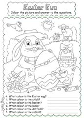 Easter Activities and Worksheets