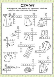 Kids Days Of The Week Clothes