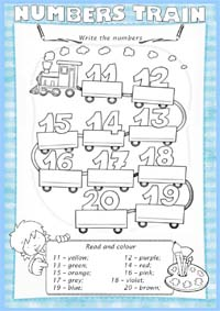 Click on the pictures to print the worksheets ***